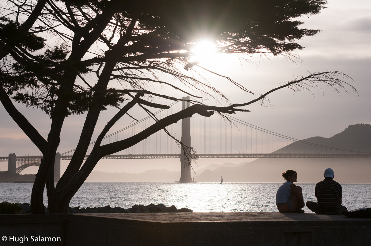 Peaceful Golden Gate